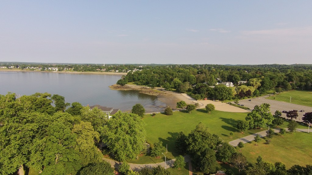 Aerial View Lynch Park Beverly, MA