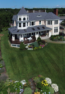 Elevated view of the front of 133 Atlantic Avenue Gloucester, MA