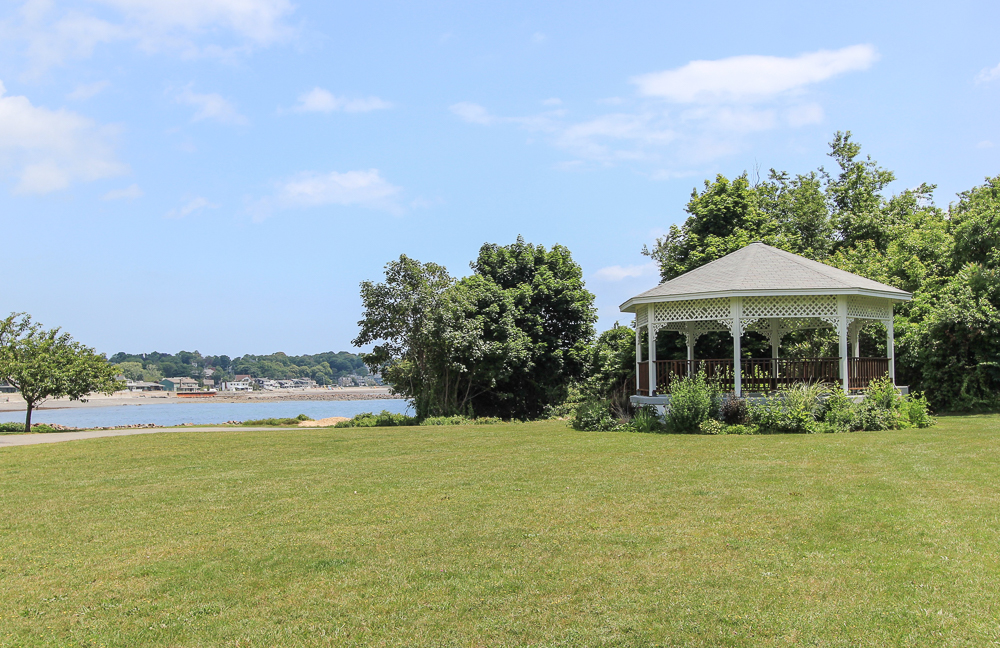 Gazebo at Bailey's Hill Park Nahant, MA