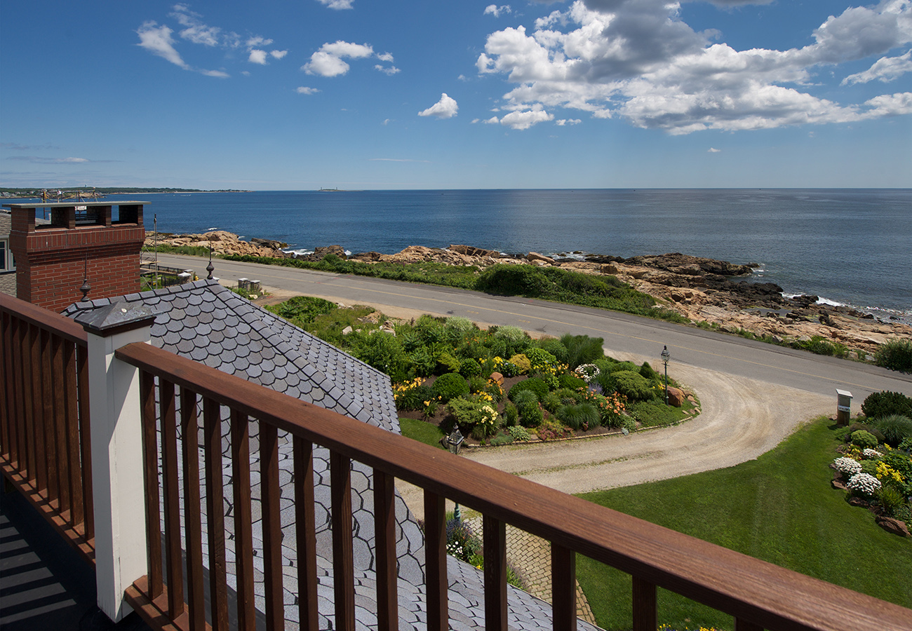 Roof Deck at 133 Atlantic Avenue Gloucester, MA