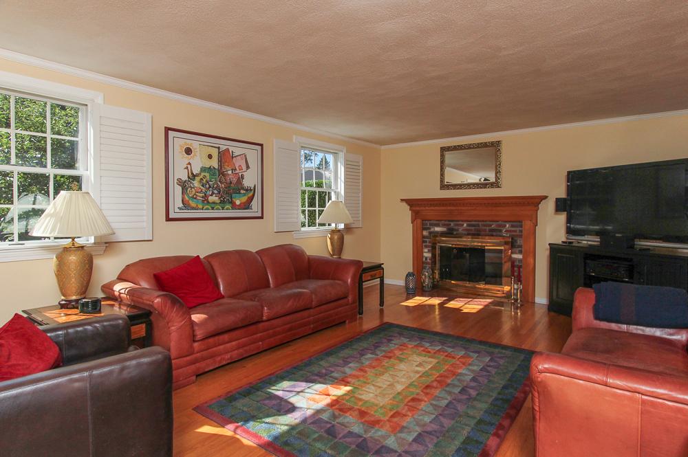 Living Room at 6 Ricker Circle Hamilton, MA