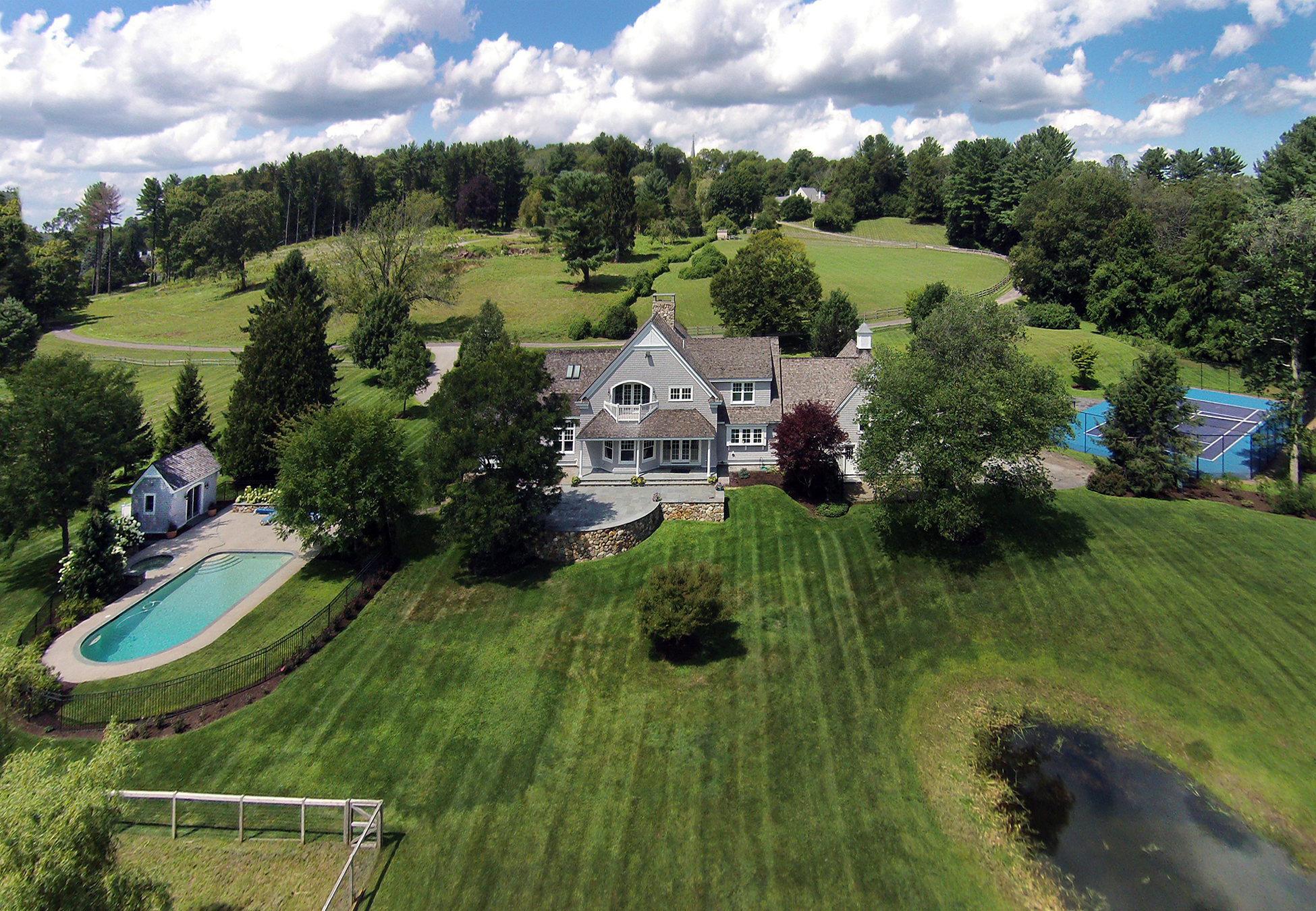 Elevated property view - 35 Miles River Road Hamilton, MA