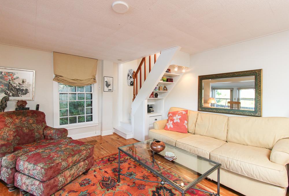 Living Room & Stairway 28 Batchelder Park Wenham, MA