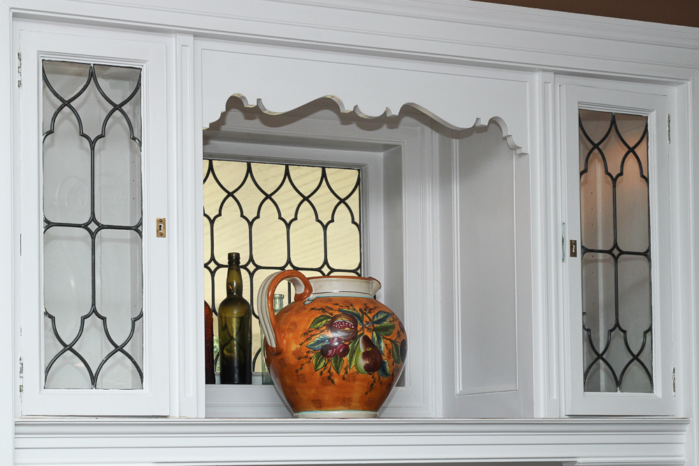 Cabinet in the dining room at 15 Palmer Avenue Swampscott, MA