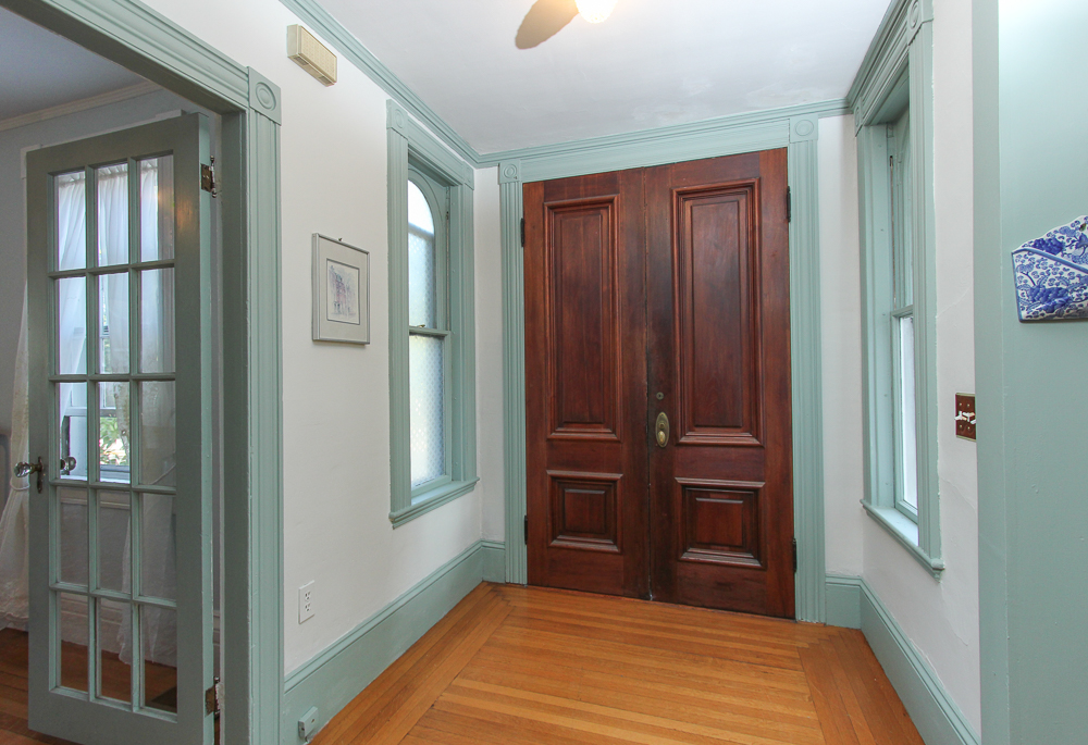 Foyer and front door 28 Hale Street Beverly, MA