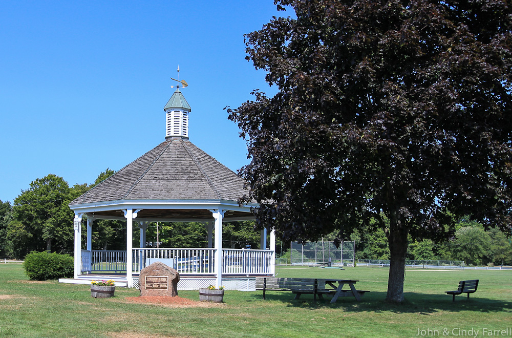 Gazebo Patton Park Hamilton MA