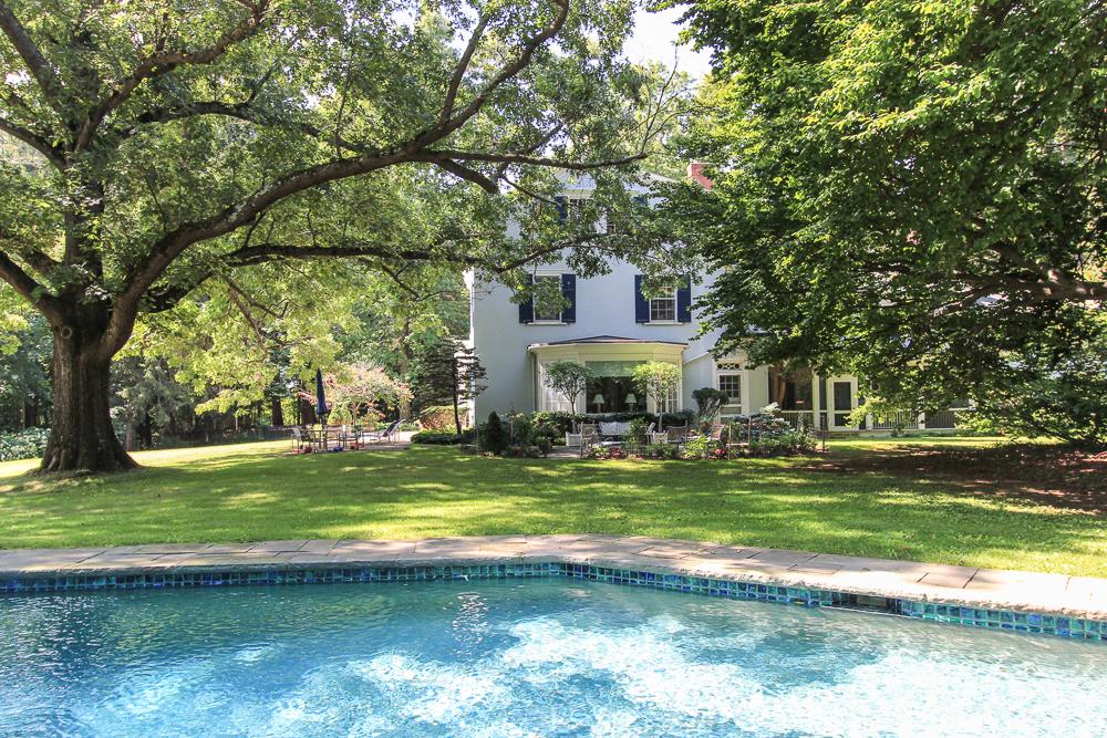 Pool and yard - 25 Meyer Lane Hamilton, MA