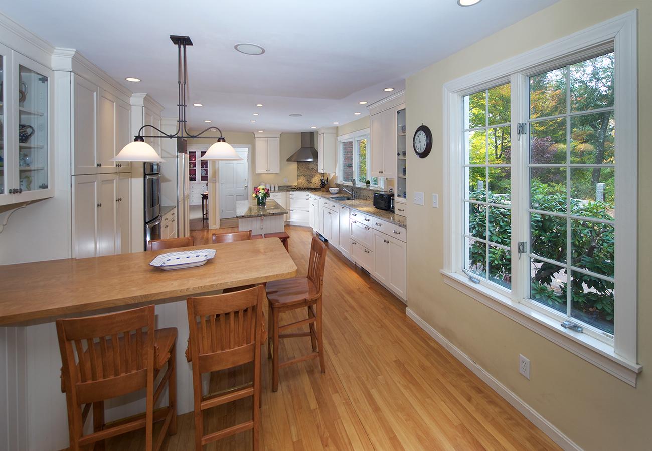Kitchen Window 33 Essex Street Hamilton, MA