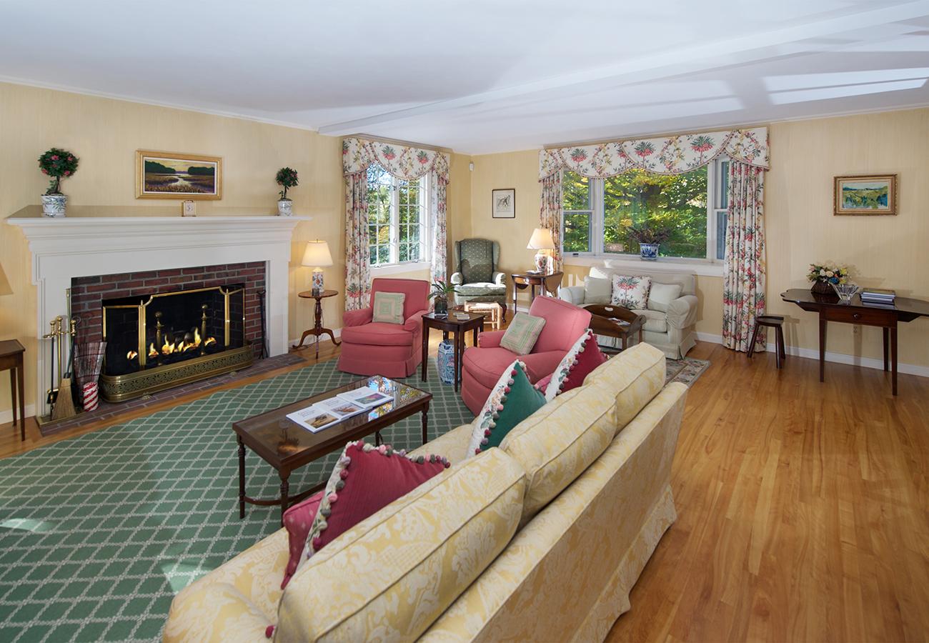 Fire - Living Room 33 Essex Street Hamilton, MA