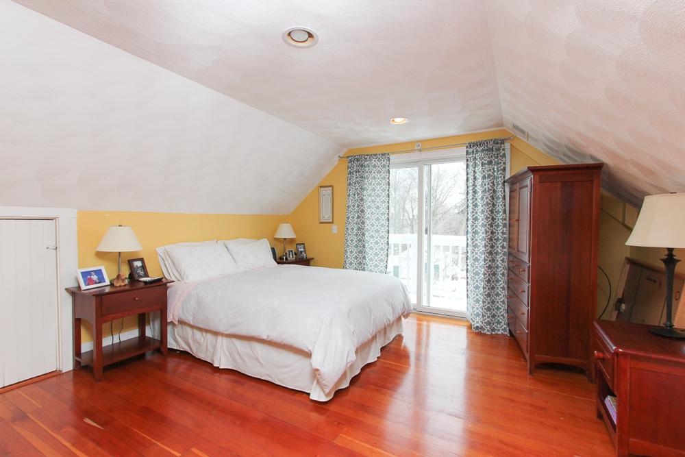 Master Bedroom 7 Park Street Danvers, MA - Unit 2