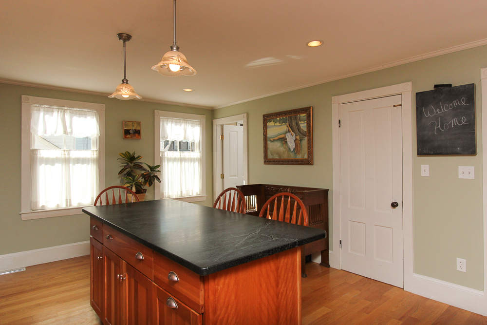 Soap Stone Kitchen Island 47 Hamilton Avenue Hamilton, MA
