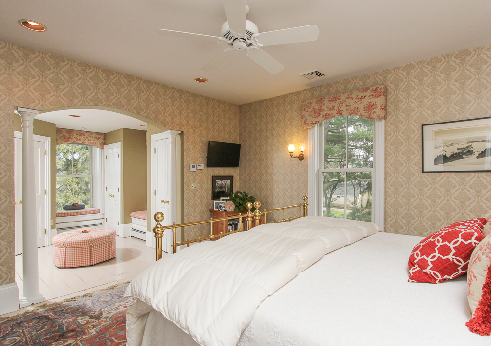 Master bedroom and dressing room35 High Road Newbury, MA