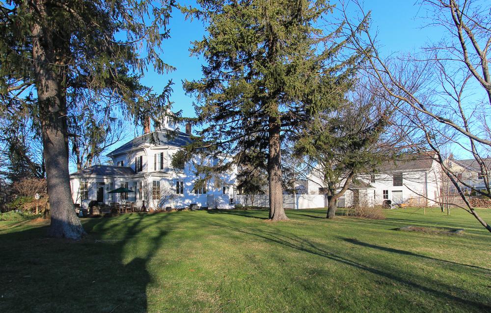 Back yard 35 High Road Newbury, MA