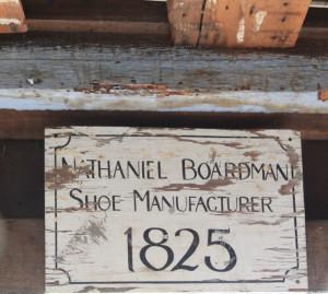 Old Sign 203 Locust Street Danvers, MA