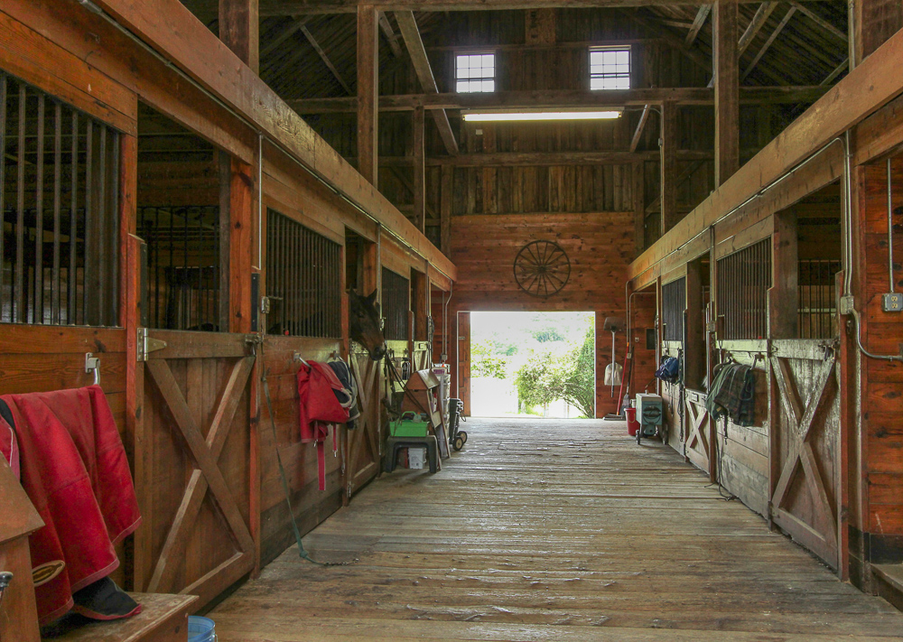Barn Interior 104 Essex Road Ipswich, MA