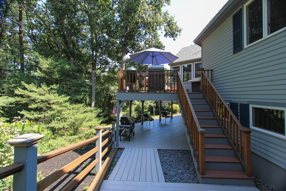 Walk way to Two Decks 58 Farley Avenue Ipswich MA