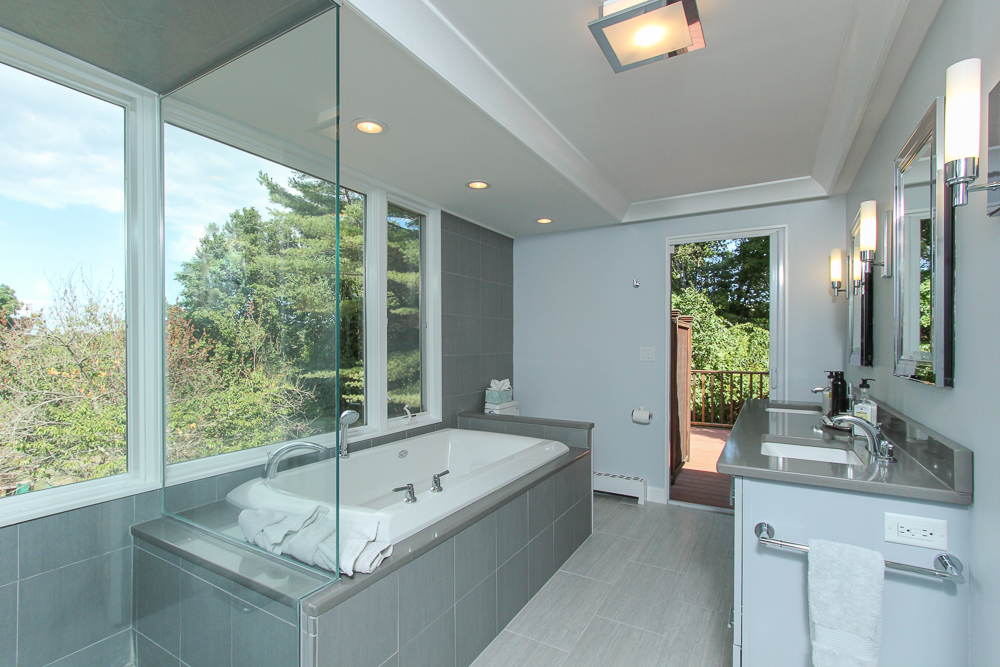 Master Bathroom with Views 58 Farley Avenue Ipswich MA