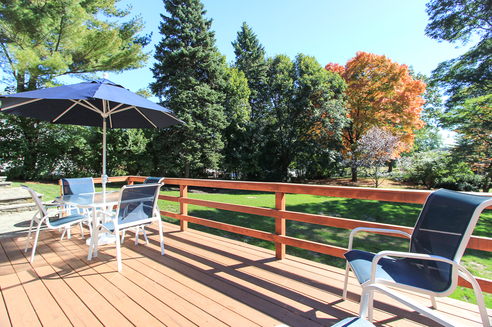 Deck with View of Yard 19 Greenleaf Drive Danvers, MA