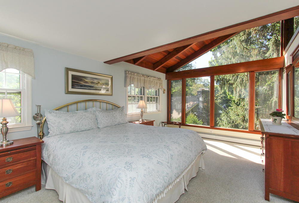 Master Bedroom with Pictur Window 19 Greenleaf Drive Danvers, MA