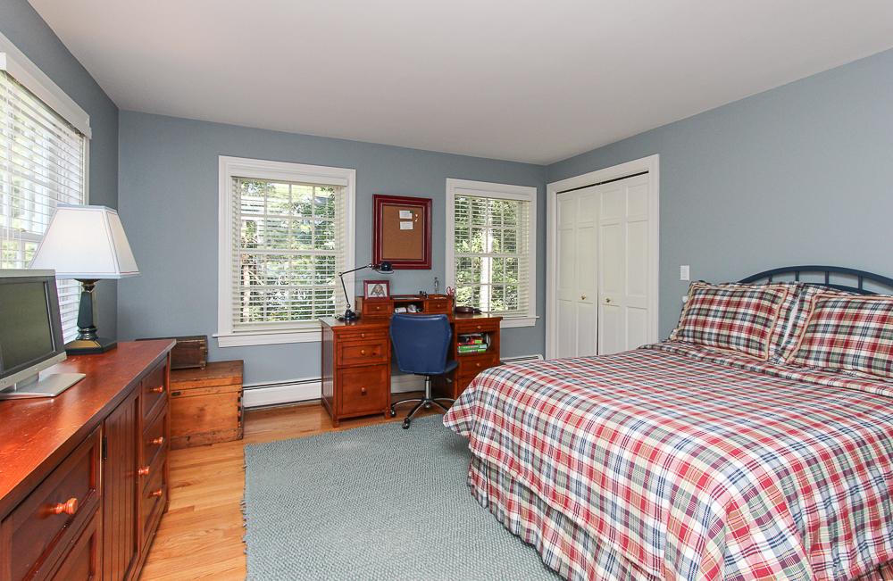 Bedroom with hardwood floors 33 Old Planters Road Beverly Massachusetts