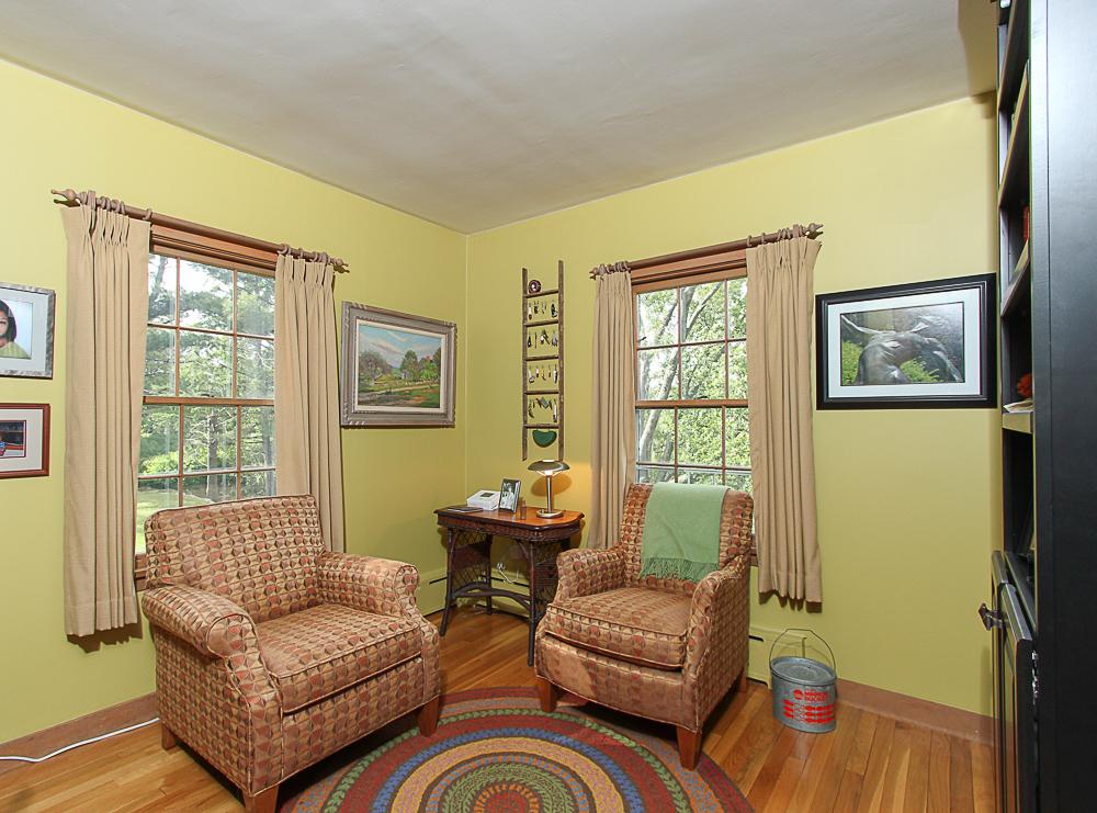 Office with hardwood floors 4 Lanes Road Essex Massachusetts