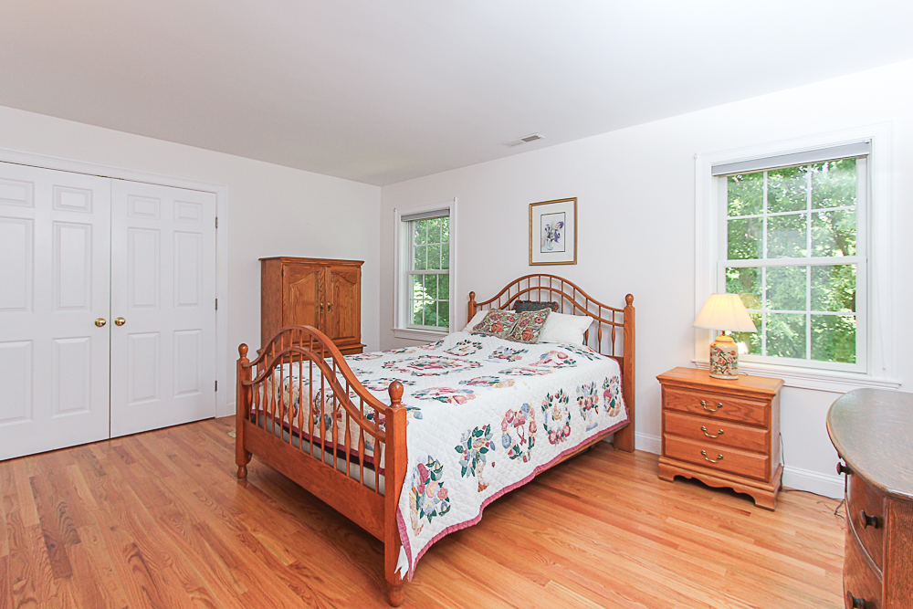 Bedroom with hardwood floors 84 Old Cart Road Hamilton Massachusetts
