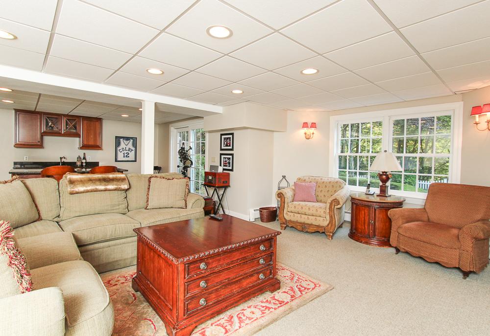 Lower level bonus room walk-out 33 Old Planters Road Beverly Massachusetts