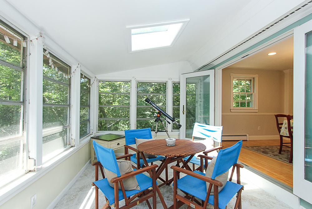 3 season porch with skylight 84 Old Cart Road Hamilton Massachusetts