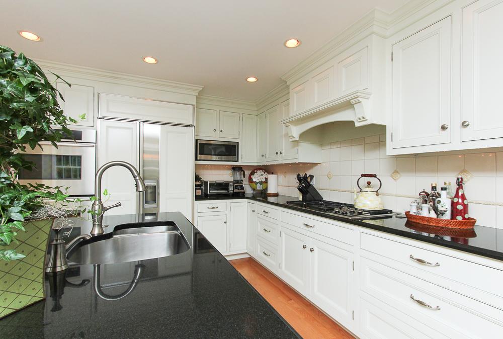 Sink in granite island 33 Old Planters Road Beverly Massachusetts