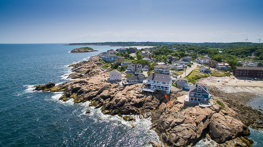 Aerial View of 20 High Rock Terrace Gloucester Massachusetts