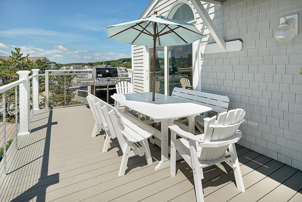 Deck dining 20 High Rock Terrace Gloucester Massachusetts