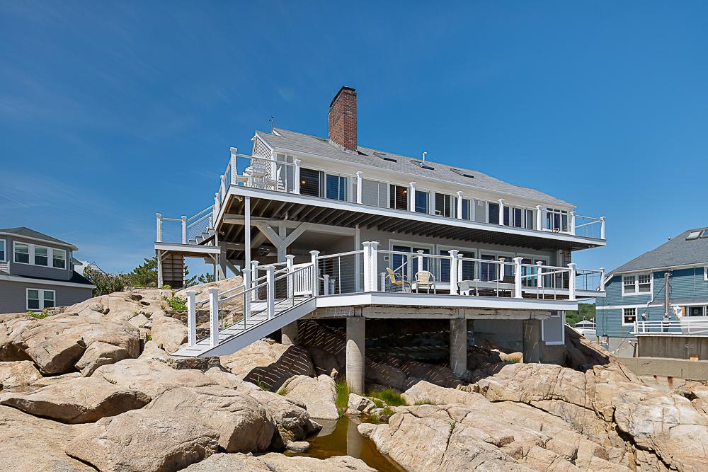 Front from the rocks 20 High Rock Terrace Gloucester Massachusetts