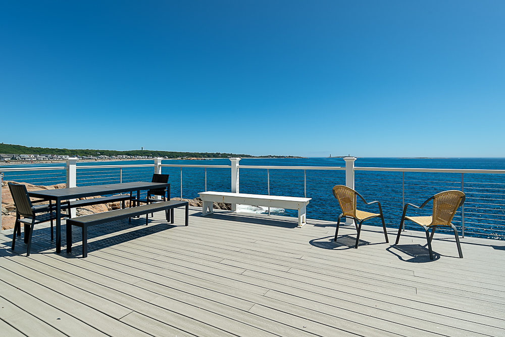 Outer deck 20 High Rock Terrace Gloucester Massachusetts