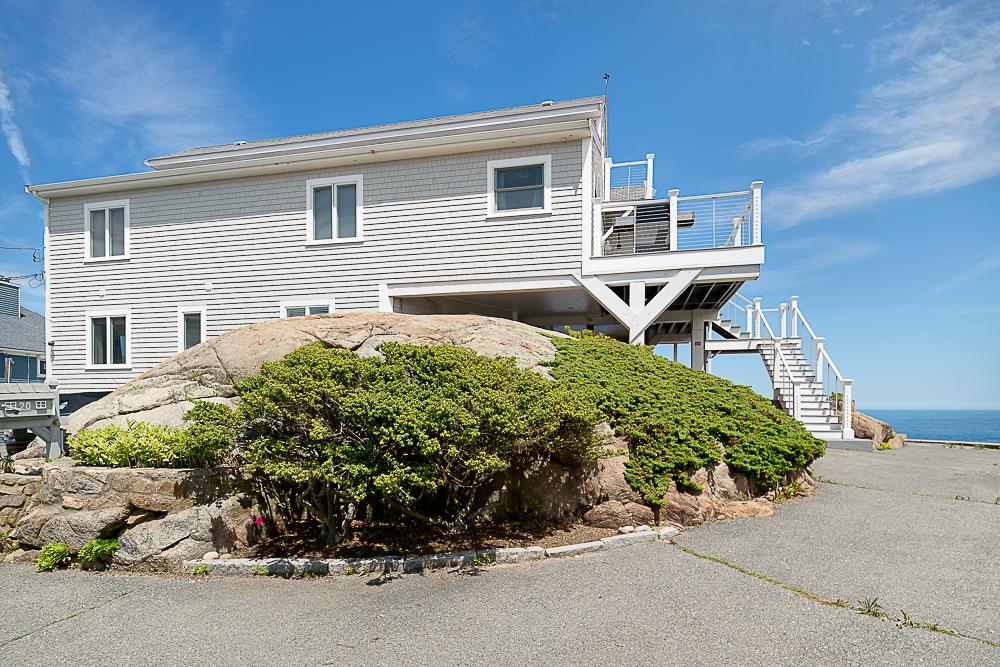 Rear of 20 High Rock Terrace Gloucester Massachusetts