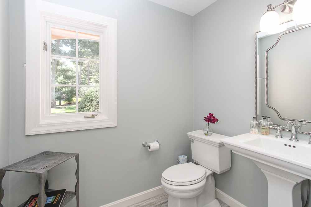 half bathroom at 48 Boren Lane Boxford Massachusetts