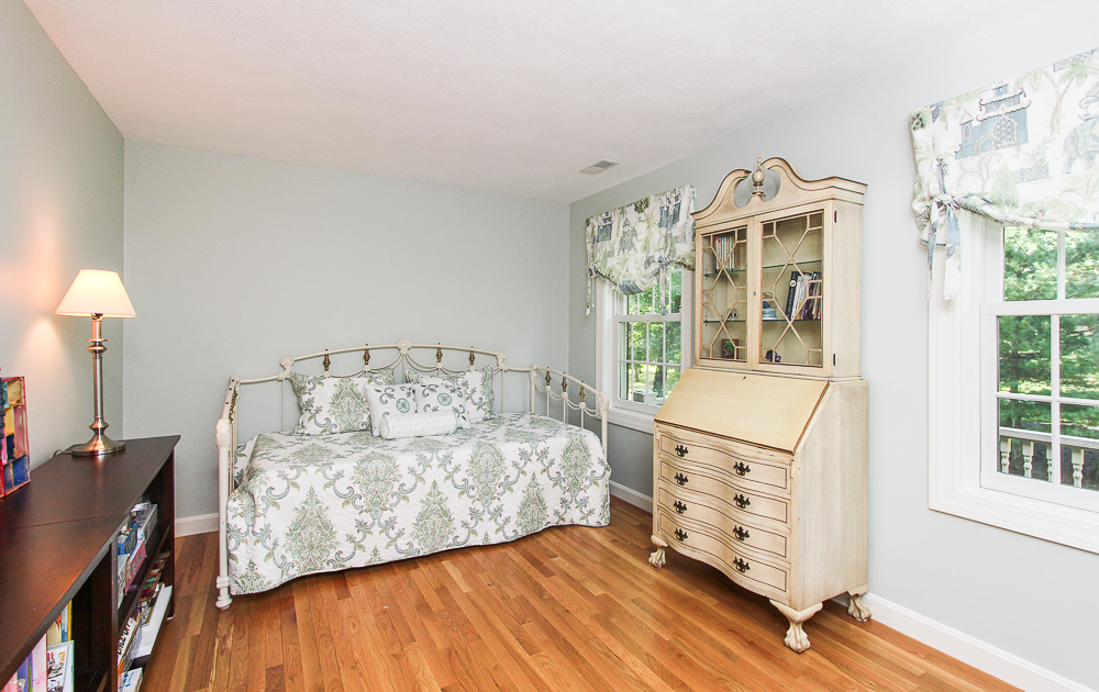 Bedroom with hardwood floors 48 Boren Lane Boxford Massachusetts