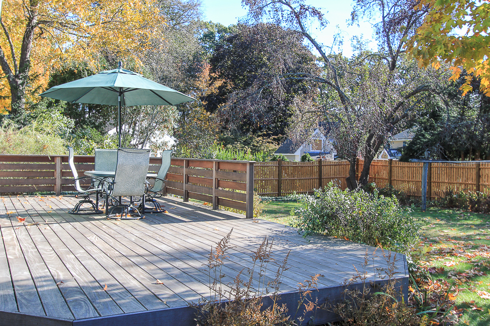 Deck 31 Orchard Road Hamilton Massachusetts
