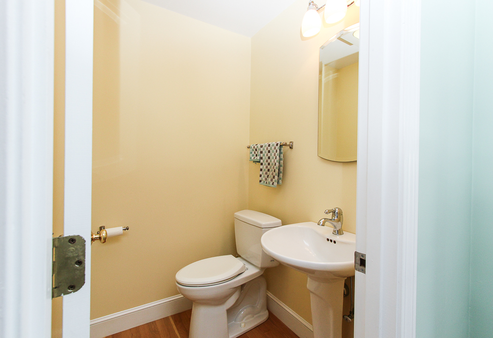 Half bath 31 Orchard Road Hamilton Massachusetts