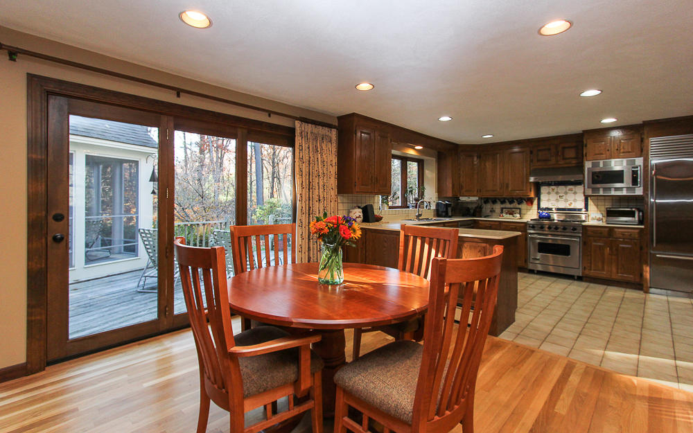 Kitchen dining area 3 Amberwood Lane Boxford Massachusetts