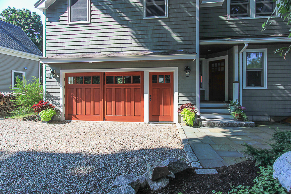 Garage doors 5 Park Street Hamilton Massachusetts
