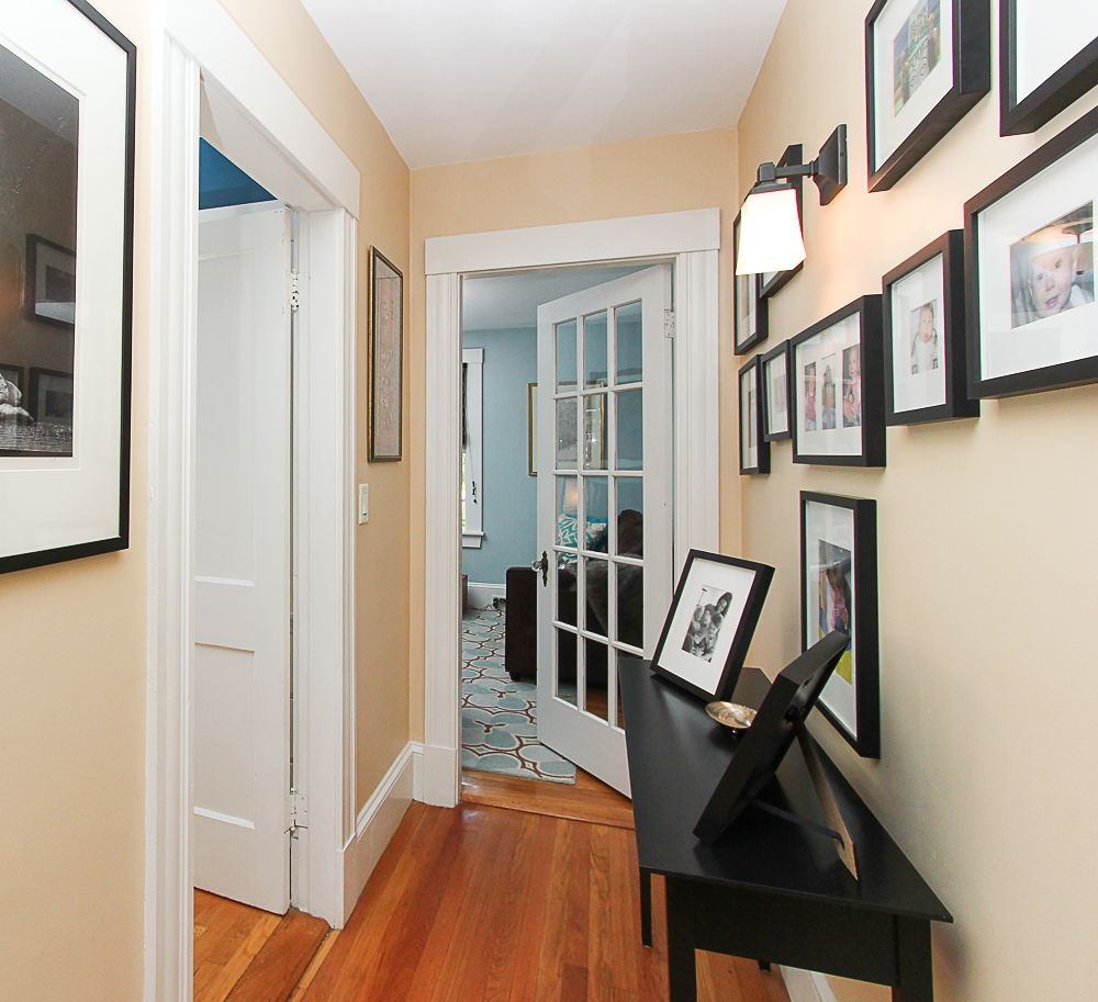 First Floor Hallway to Den 25 Park Street Hamilton Massachusetts