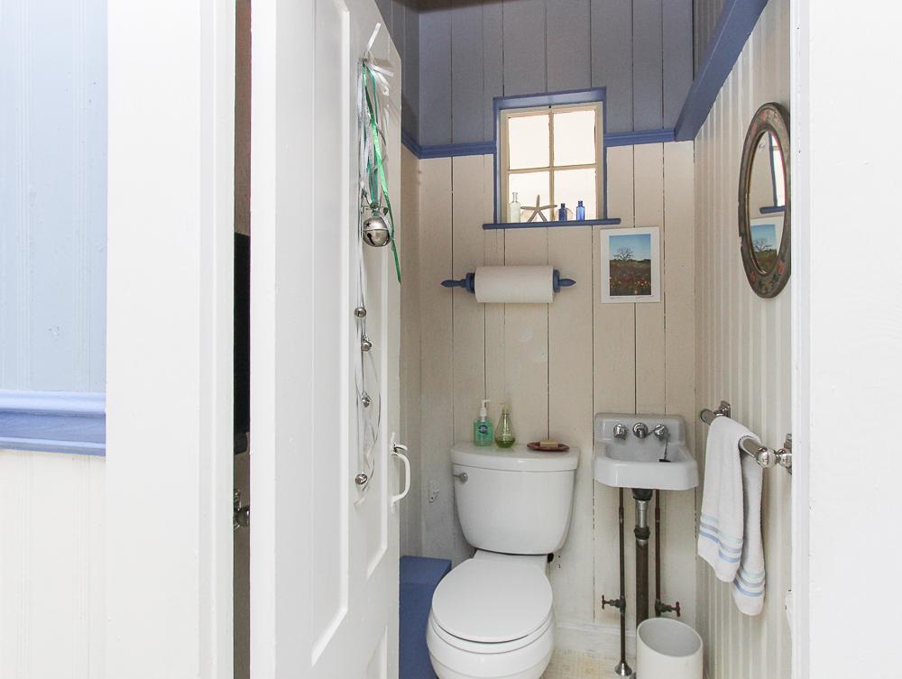 Bathroom in mudroom 160 Locust street Danvers Massachusetts