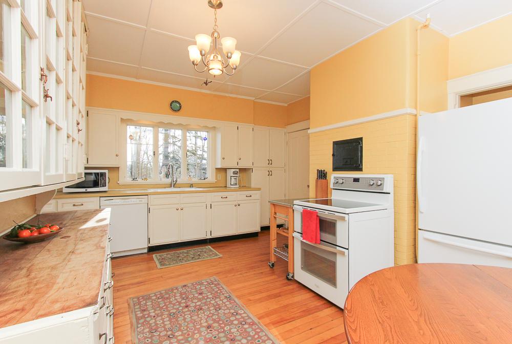 Kitchen from dining area 160 Locust street Danvers Massachusetts