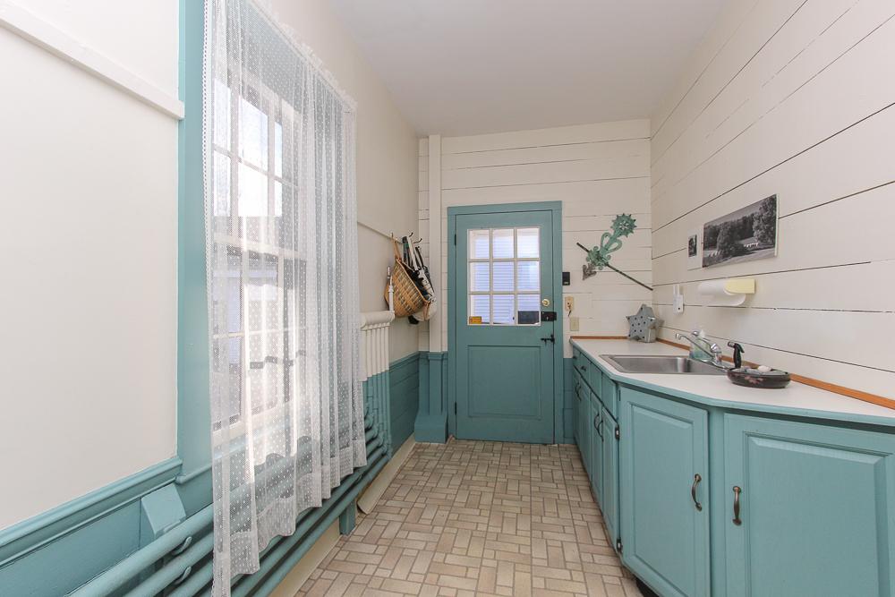 Mudroom with built-in cabinets 160 Locust street Danvers Massachusetts