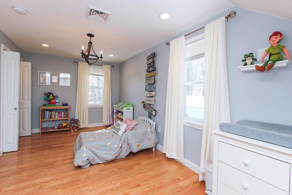 Bedroom with hardwood floors 16 Alden Road Peabody Massachusetts
