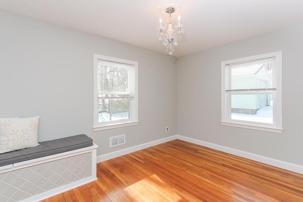 Office with hardwood floors 16 Alden Road Peabody Massachusetts