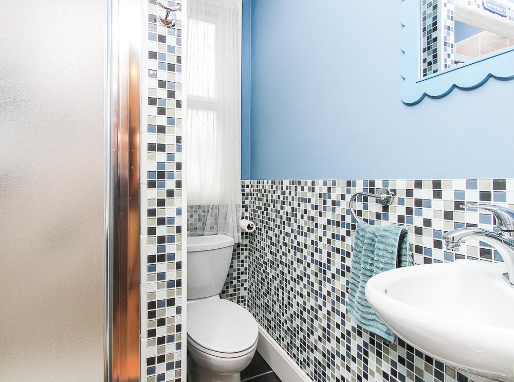 Tile in first floor bathroom 25 Porter Street Wenham Massachusetts