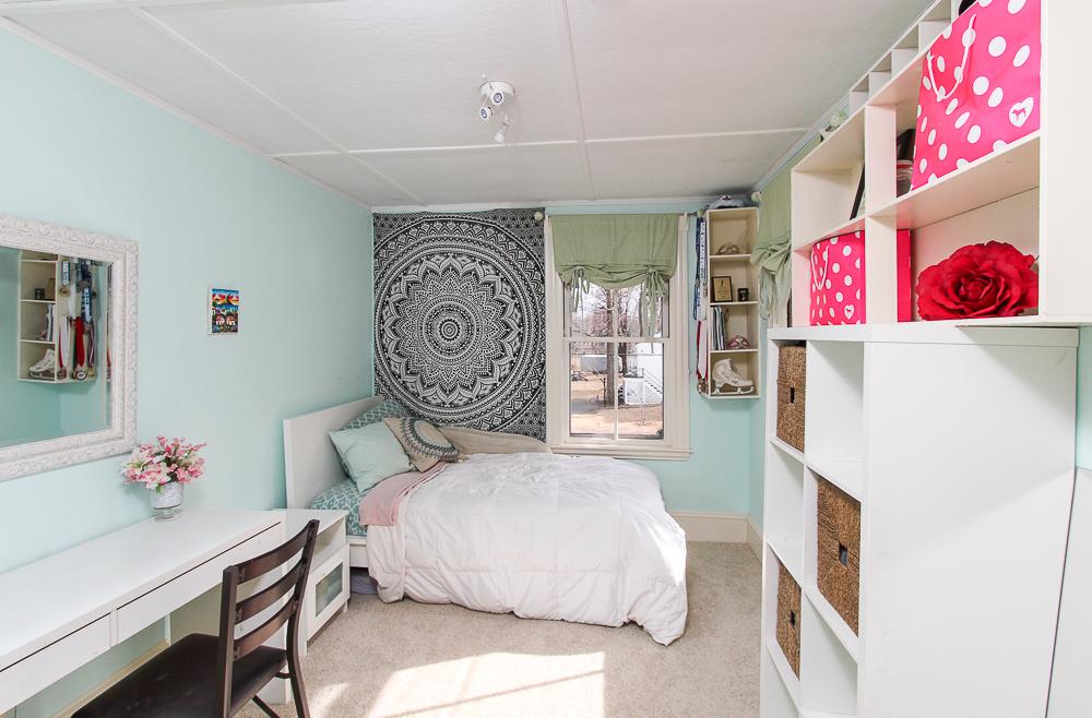 Bedroom with carpet 25 Porter Street Wenham Massachusetts