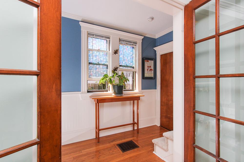 Glass doors to the foyer 25 Porter Street Wenham Massachusetts