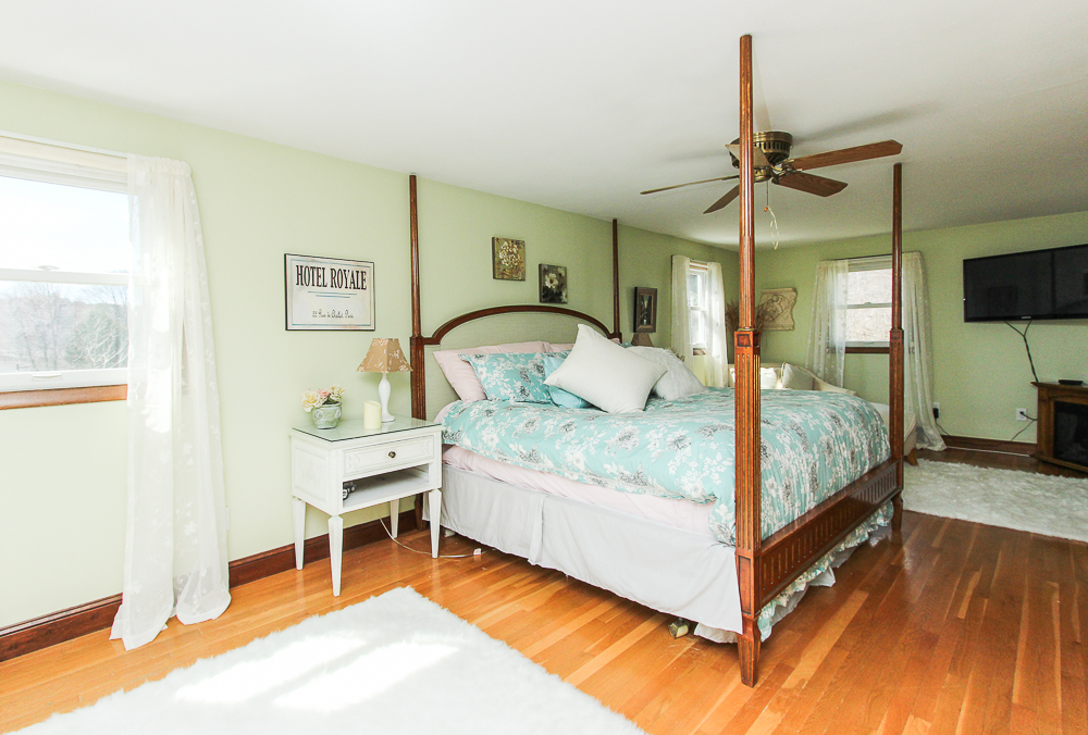Main Bedroom with hardwood floors 3 Reed Road Peabody Massachusetts